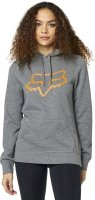 FOX  BLUZA LADY Z KAPTUREM CENTERED GREY/ORANGE