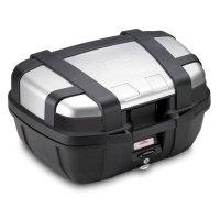 Kufer Centralny Givi TRK52N TREKKER Srebrny - 52 Litry
