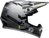 BELL KASK  MX-9 SEVEN EQUALIZER GREY/BLACK/HI VIZ