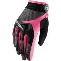 THOR RĘKAWICE WOMENS SPECTRUM OFFROAD BLACK/PINK=$