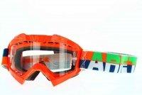 Ariete Gogle Adrenaline Profi kolor FLUO orange