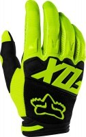 FOX RĘKAWICE OFF-ROAD DIRTPAW RACE FLO YELLOW