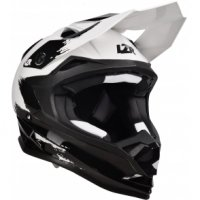 LAZER Kask OFF-ROAD OR1 Jr X-Line  czar/biały/mat