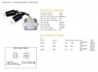 DZE REGULATOR NAPIĘCIA HONDA CBR600RR 07-11, CBR1000RR 04-05 (31600-MEL-821) 2444-01