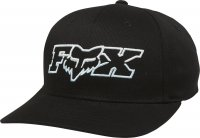 FOX CZAPKA  JUNIOR DUELHEAD FLEXFIT BLACK/BLUE