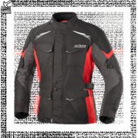 BUSE Kurtka motocyklowa  Lago II czarno-czerwona