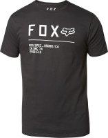 FOX T-SHIRT NON STOP PREMIUM BLACK/WHITE