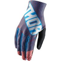 THOR RĘKAWICE YOUTH VOID GEOTEC OFFROAD RED/BLUE=$