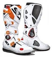 Buty Enduro Cross SIDI CROSSFIRE 2 Biało-Pomarańczowe