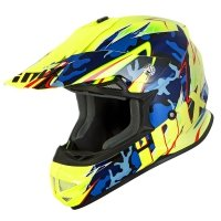 IMX KASK OFF-ROAD FMX-01 JUNIOR CAMO FLO YELLOW