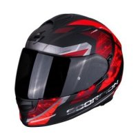 SCORPION KASK INTEGRALNY EXO-510  MATT BLACK-RED