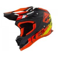 KENNY KASK OFF-ROAD TRACK KID BLACK ORANGE 2019
