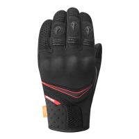 RACER RĘKAWICE SKÓRZANO-TEKSTY TROOPER 4 BLACK/RED