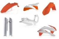 Acerbis KTM pełny zestaw plastików EXC; 14-15