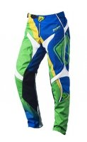KENNY SPODNIE OFF-ROAD TRACK GREEN/BLUE