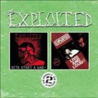 EXPLOITED - LETS START A WAR / LIVE AND LOUD