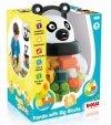 Panda z klockami 18 sztuk  DOLU DL5170