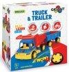 Wader  Gigant Truck Wywrotka z Przyczepą - 65100