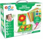 Puzzle Creat&Draw ogród WADER 42140