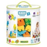Klocki Baby Blocks 30 sztuk Wader 41400
