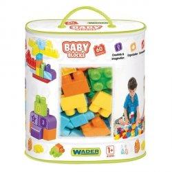 Klocki Baby Blocks 60 sztuk Wader 41410