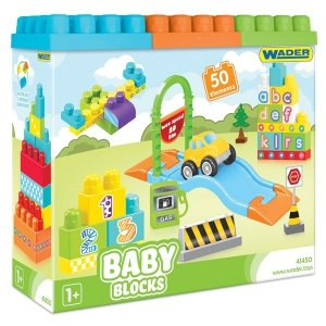 Baby Blocks 50 szt. WADER 41450