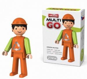 Igracek Multigo śmieciarz -figurka EF27414