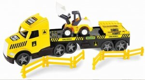 Magic Truck Technic laweta ze spychaczem