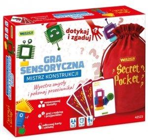 Mistrz Konstrukcji gra sensoryczna Wader 42523