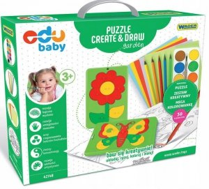 Puzzle Creat&Draw ogród