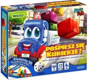 Pospiesz się Kurierze! gra rodzinna Wader 42501