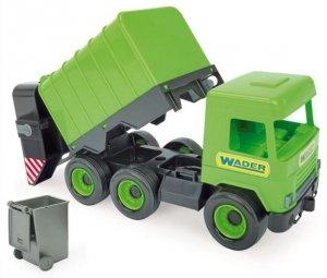 Middle Truck śmieciarka green w kartonie