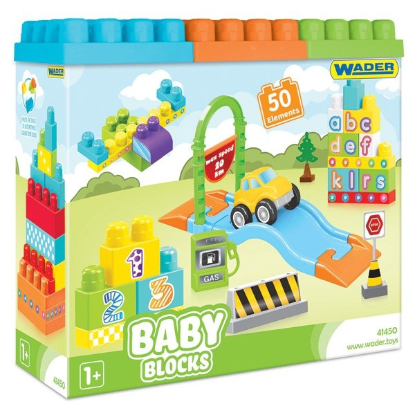 Baby Blocks 50 szt.