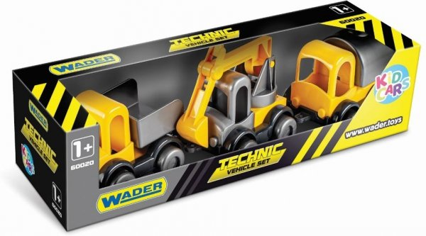 Kid Cars zestaw pojazdy budowlane  60020
