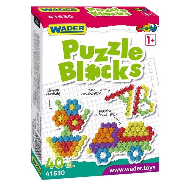 Klocki Puzzle w Kartonie Wader 41630