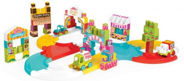 Trasa z klockami i zestawem autek Kids WADER 42000