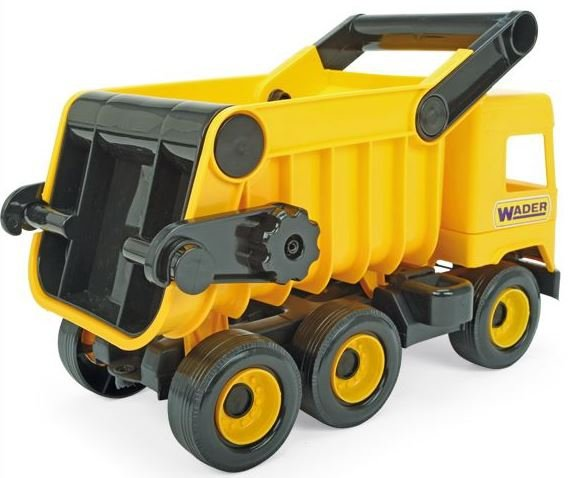 Middle Truck wywrotka yellow w kartonie Wader 32121
