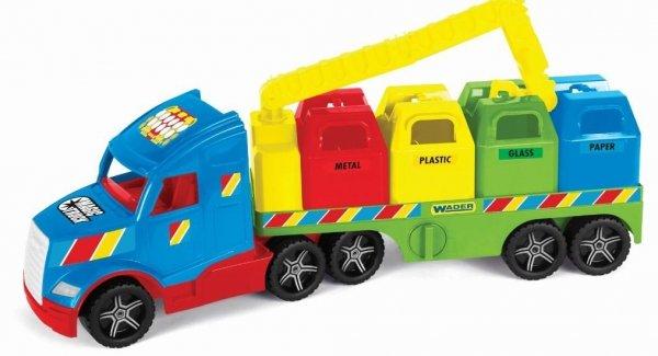 Magic Truck Basic śmieciarka 36320