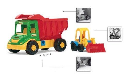 Multi Truck ze spychaczem buggy