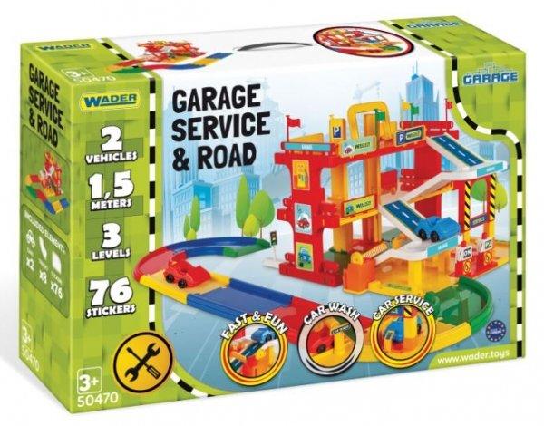 Garaż Serwis z drogą Wader 50470