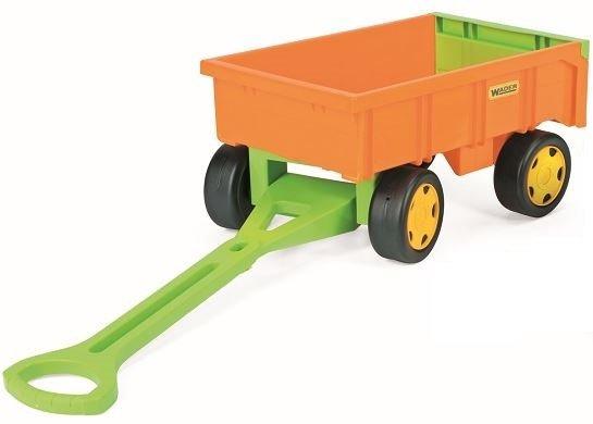 Gigant Truck  wywrotka z  przyczepą +zestaw do piasku 65005 + 10952