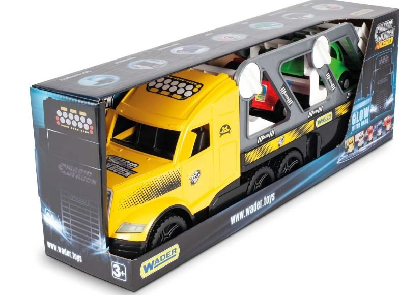 Wader 36230 Magic Truck ACTION - Auta Retro