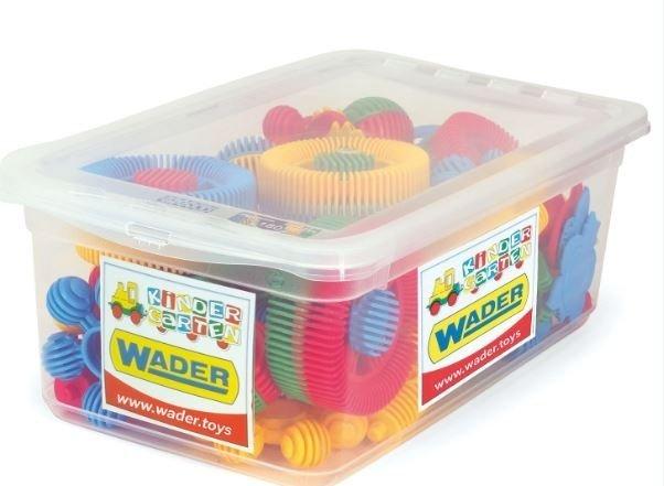Klocki Funny Blocks 72 szt Wader 80143