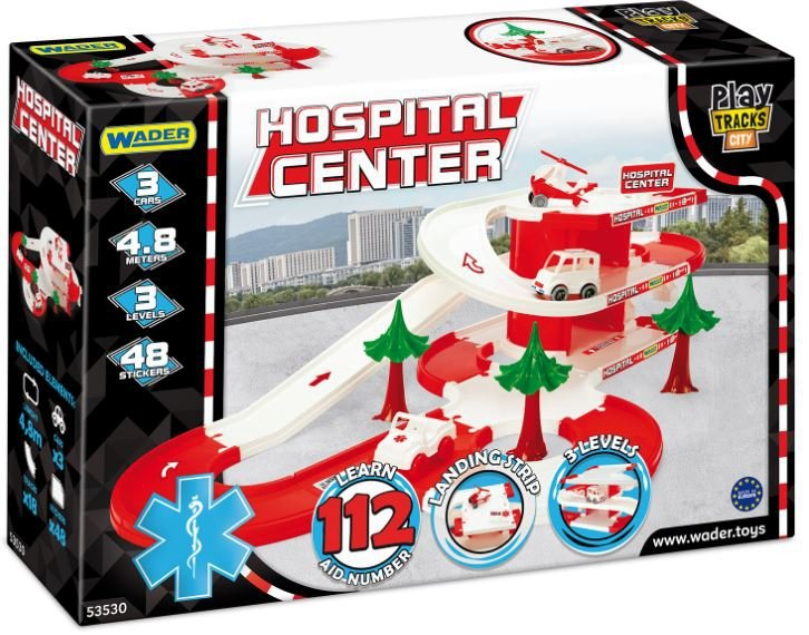 Wader 53530 Play Tracks City szpital