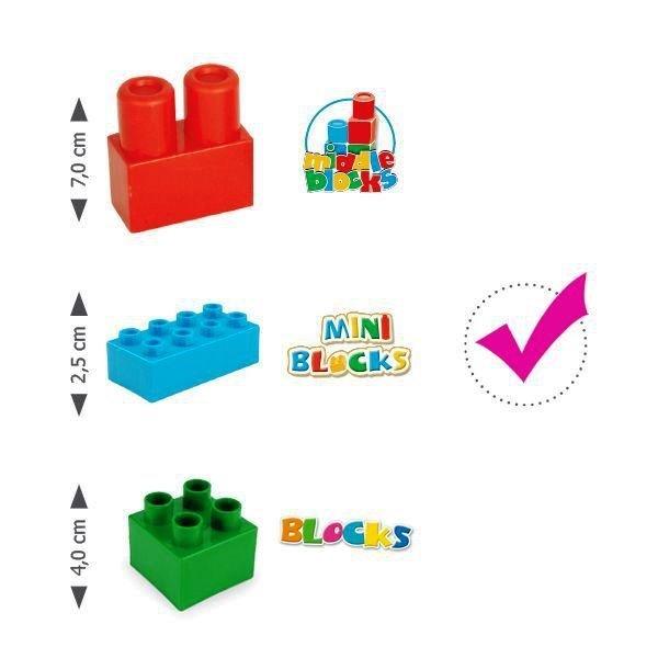 Wader Mini Blocks  Wiadro z Klockami - 41340