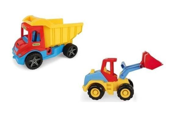 Multi Truck wywrotka z koparką