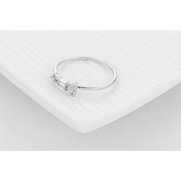 PIERŚCIONEK KRYSZTAŁKI STAL CHIRURGICZNA 467, Rozmiar pierścionków: US8 EU17