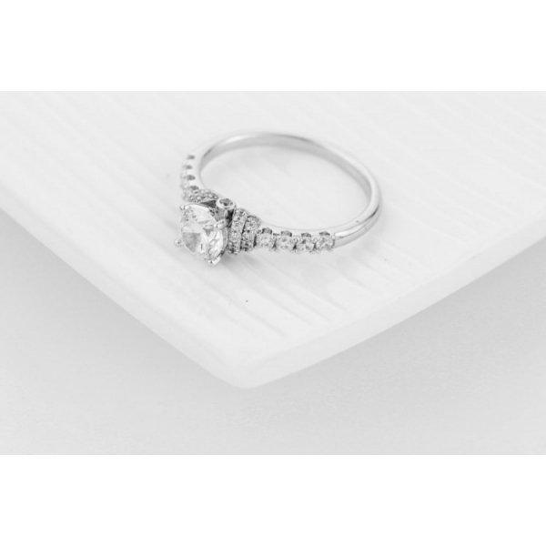 PIERŚCIONEK KRYSZTAŁKI STAL CHIRURGICZNA 476, Rozmiar pierścionków: US10 EU22