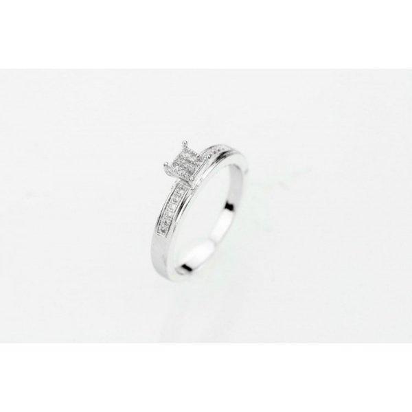 PIERŚCIONEK KRYSZTAŁKI STAL CHIRURGICZNA 488, Rozmiar pierścionków: US7 EU14