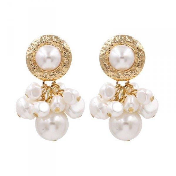 Kolczyki wiszące pearls bigger K1230Z